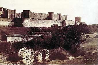carcassonne before restoration 1851