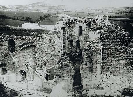 carcassonne before restoration 1863